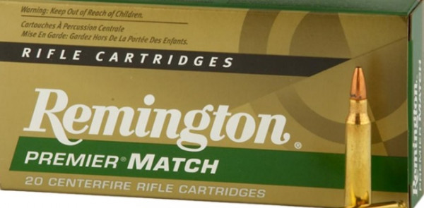 Remington .223 Remington 52grs. Premier Match 20 Stück