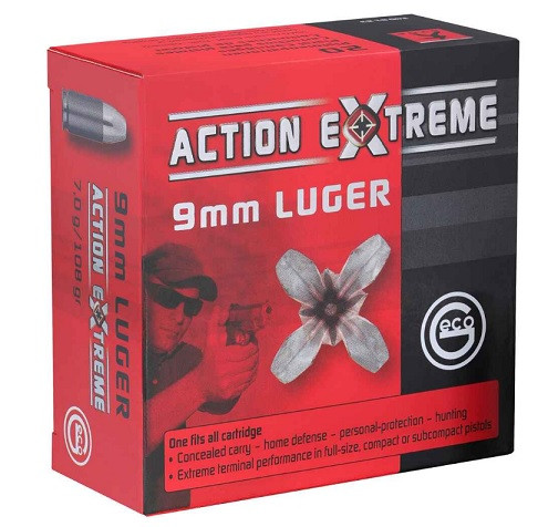 GECO 9mm Luger Action Extreme 108grs. JHP 25 Stück